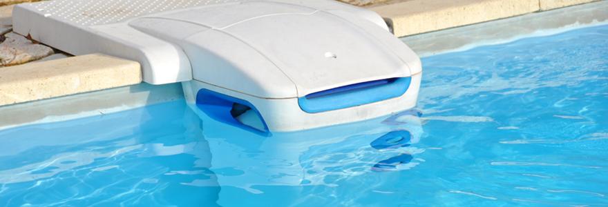 Le robot à pression de piscine