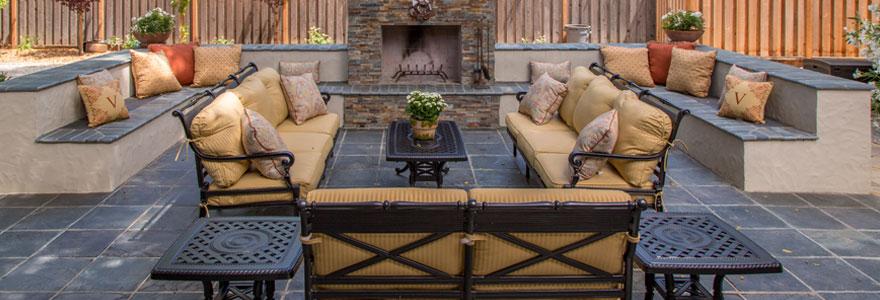 Un mobilier d'extérieur